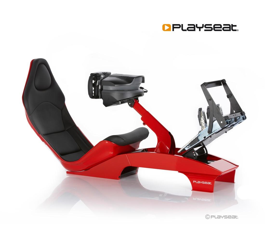 Playseat F1 Red Adhesivos Ferrari no incluidos – Andiani Elegance